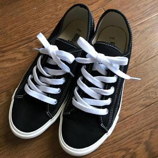 シマムラ(しまむら)のしまむら スニーカー 黒  運動靴  (スニーカー)