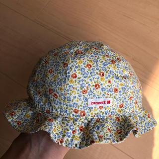 コットンベビー(COTTON BABY)のキッズ 女の子46cm(帽子)