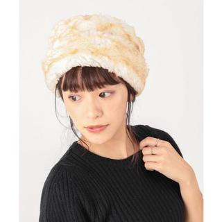 カスタネ(Kastane)のさき様専用 kastane ファー帽子 MFakeFurTougue (その他)