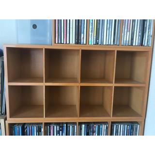 ムジルシリョウヒン(MUJI (無印良品))の無印 CDラック 収納ラック(CD/DVD収納)