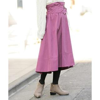 ミスティウーマン(mysty woman)のミスティウーマン コルセット付きフレアスカート(ロングスカート)