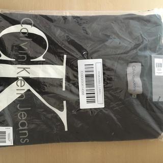 カルバンクライン(Calvin Klein)のカルバンクラインロゴスウェット、ブラックXL(スウェット)