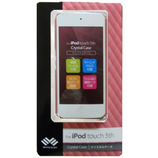 アイポッドタッチ(iPod touch)のiPodタッチ5th用 ピンクハードケース WEIPTO5CC(PK)(ポータブルプレーヤー)