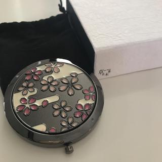 ソウカモッカ(草花木果)の新品未使用品 非売品 草花木果  2面手鏡(ミラー)
