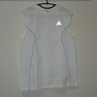 アディダス(adidas)のアディダス ノースリーブ シャツ(Tシャツ/カットソー(半袖/袖なし))