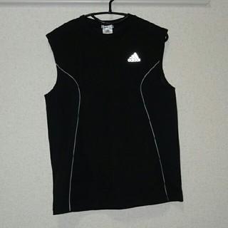 アディダス(adidas)のadidas ノースリーブシャツ(Tシャツ/カットソー(半袖/袖なし))