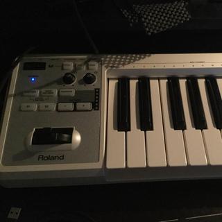 ローランド(Roland)のMIDIキーボード Roland A-49 白 DTM  DAW 5/6まで(MIDIコントローラー)