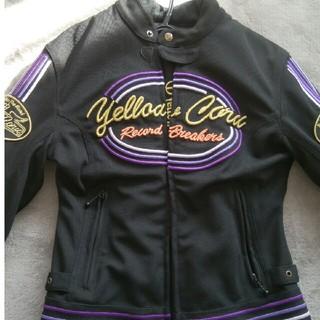イエローコーン(YeLLOW CORN)のバイクジャケット女性Mメッシュ春夏イエローコーン(装備/装具)