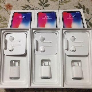 アップル(Apple)のアップル iphon 10 付属品 正規品(バッテリー/充電器)