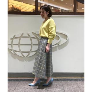 デミルクスビームス(Demi-Luxe BEAMS)のDemi-Luxe BEAMS チェック スカート(ひざ丈スカート)