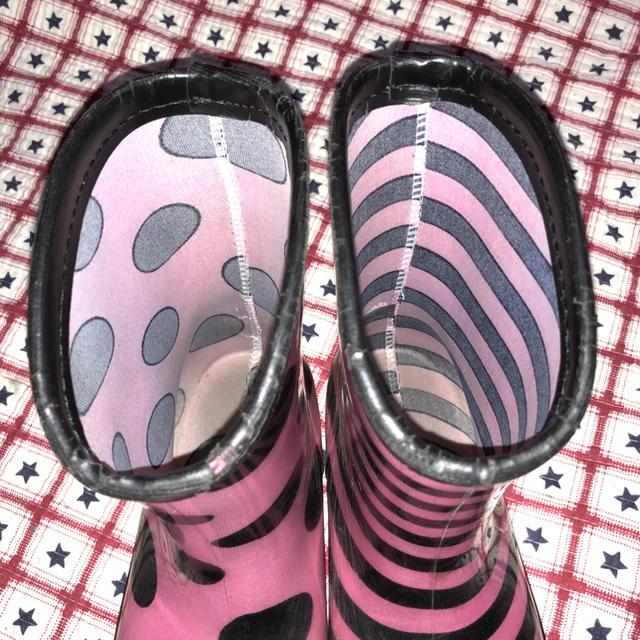 アシンメトリーレインブーツ レディースの靴/シューズ(レインブーツ/長靴)の商品写真