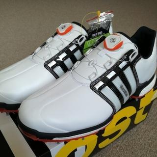 アディダス(adidas)のアディダス ツアー360  ボア ブースト  ゴルフシューズ  Tour360 (シューズ)