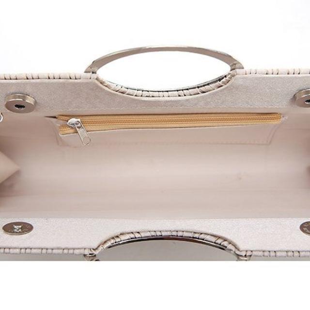 【新品】 大きめ 2WAYハンドバッグ 結婚式 フォーマル パーティー 袱紗入る レディースのバッグ(ハンドバッグ)の商品写真