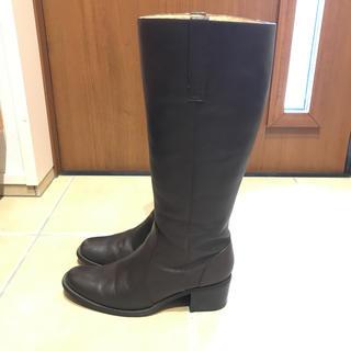 ムジルシリョウヒン(MUJI (無印良品))の無印良品  乗馬ロングブーツ(ブーツ)