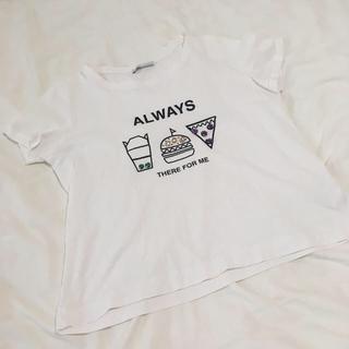 ザラ(ZARA)のZARA☆ビジューTシャツ(Tシャツ(半袖/袖なし))