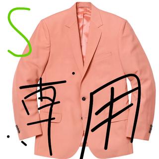 シュプリーム(Supreme)の専用S/30サイズ シュプリーム  スーツ SUPREME suit ピーチ(スーツジャケット)