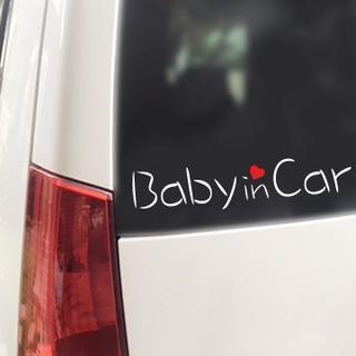 Baby in Car ハート付(B)/ステッカー(その他)