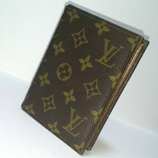 ルイヴィトン(LOUIS VUITTON)のLOUIS VUITTON モノグラム 二つ折り財布 ヴィンテージ(財布)