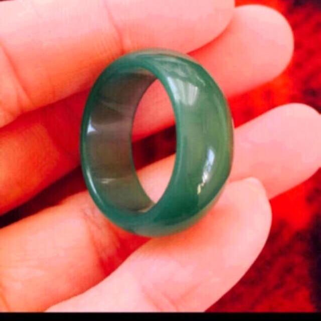 レア)金運up天然メノウペンダント(高品質) レディースのアクセサリー(リング(指輪))の商品写真
