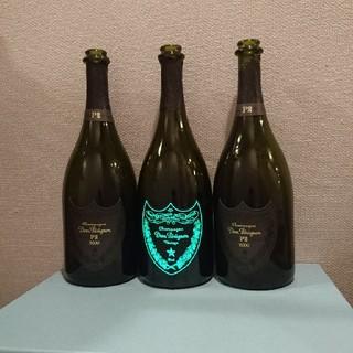 ドンペリニヨン(Dom Pérignon)の光るドンペリルミナス、ドンペリP2空き瓶2本セット!(シャンパン/スパークリングワイン)