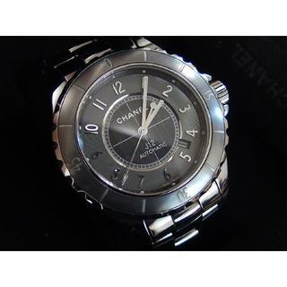 シャネル(CHANEL)の超美品 シャネル J12 クロマティック 41mm H22934 説明書 純正箱(腕時計(アナログ))