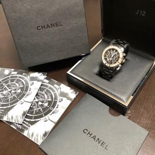 シャネル(CHANEL)のシャネル j12 クロノグラフ(腕時計(アナログ))