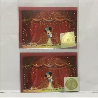 デイジー(Daisy)のディズニー 35周年 ポストカード オープニングスーン(キャラクターグッズ)