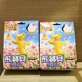 台湾購入☆ファーファ 吊り下げ式 芳香剤 3個入り× 2箱  ・フラワー