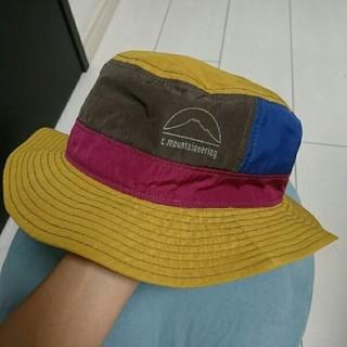 コーエン(coen)のcoen ハット 折り畳める帽子 イエロー フリーサイズ ユニセックス(ハット)