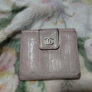シャネル(CHANEL)の823様専用 CHANEL 二つ折財布(財布)