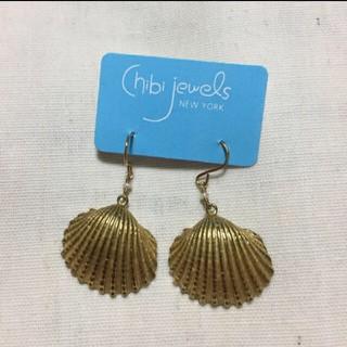 チビジュエルズ(Chibi Jewels)の新品*Chibi jewels チビジュエルズ シェルピアス(ピアス)