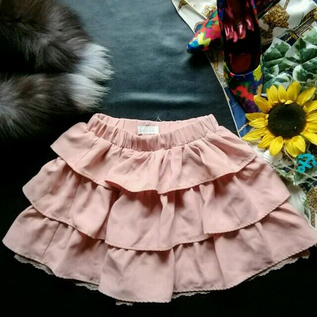 LIZ LISA(リズリサ)の♪リズリサ♪3段フリルスカート♡LODISPOTTO♡axes♡プライム♡ レディースのスカート(ミニスカート)の商品写真
