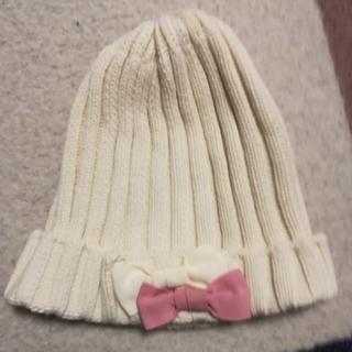 ジーユー(GU)のキッズ ニット帽 (帽子)