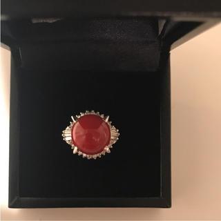地赤珊瑚(リング(指輪))