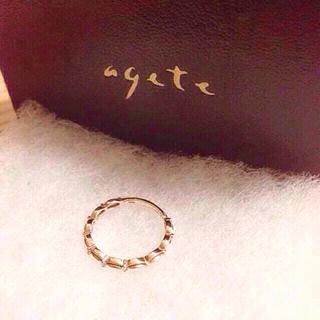アガット(agete)の値下げ agate リング(リング(指輪))