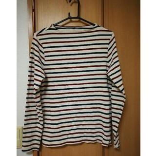 ムジルシリョウヒン(MUJI (無印良品))の無印良品 ボーダー Tシャツ 長袖(Tシャツ/カットソー(七分/長袖))