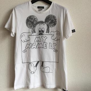 オーバーザストライプス(OVER THE STRIPES)のOVER THE STRiPES❎MICKEY MOUSE Tシャツ(Tシャツ/カットソー(半袖/袖なし))