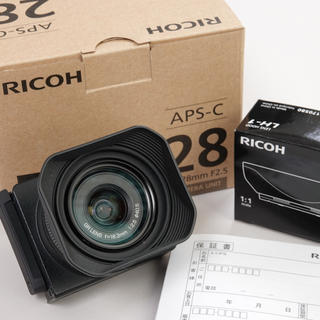 リコー(RICOH)のリコー GR LENS A12 28mm GXR用(レンズ(単焦点))