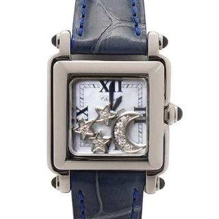 ショパール(Chopard)の美品✨ショパール chopard ハッピースポーツ✨ダイヤモンド 腕時計(腕時計)