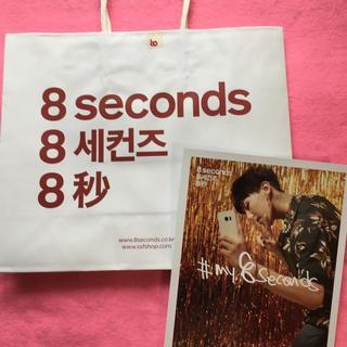 BIGBANGG.D×8seconds フライヤー&ショッピング バッグ