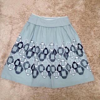 ミナペルホネン(mina perhonen)のミナペルホネン 14ssスカート(ひざ丈スカート)