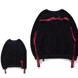 シュプリーム(Supreme)のベルトトレーナー 韓国(Tシャツ/カットソー(七分/長袖))