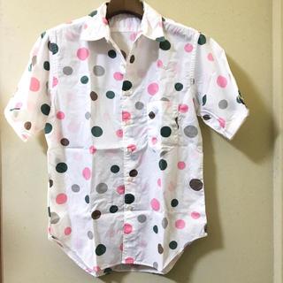 カトー(KATO`)の【即購入OK】KATO`  カトー 半袖 シャツ ドット(シャツ)