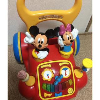 ディズニー(Disney)ののん様★ディズニー あっちこっちウォーカー 歩行器(手押し車/カタカタ)