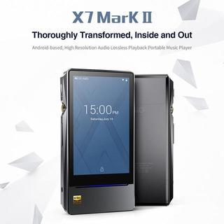 Fiio X7 mk2 ハイレゾ プレイヤー リモコン アンプ 4点 セット(ポータブルプレーヤー)