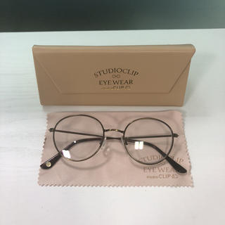 スタディオクリップ(STUDIO CLIP)のスタディオクリップ 丸メガネ(サングラス/メガネ)