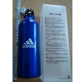 アディダス(adidas)の新品未使用 アディダス ステンレスボトル 水筒 カラビナ付 adidas(弁当用品)