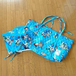 ディズニー(Disney)のお昼寝布団シーツカバー(敷き、掛け)バッグ付き(シーツ/カバー)