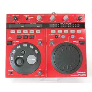 パイオニア(Pioneer)の動作確認済み PIONEER EFX-500-R  パイオニア エフェクター(DJエフェクター)