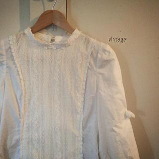 サンタモニカ(Santa Monica)のvintage…blouse(シャツ/ブラウス(長袖/七分))